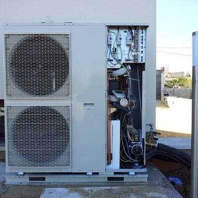 Aire acondicionado con bomba de calor agua-agua