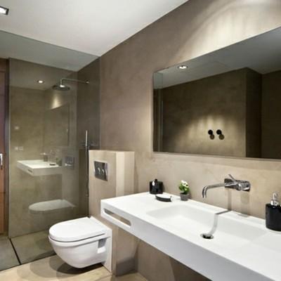 Aplicar piso de  microcemento en baño