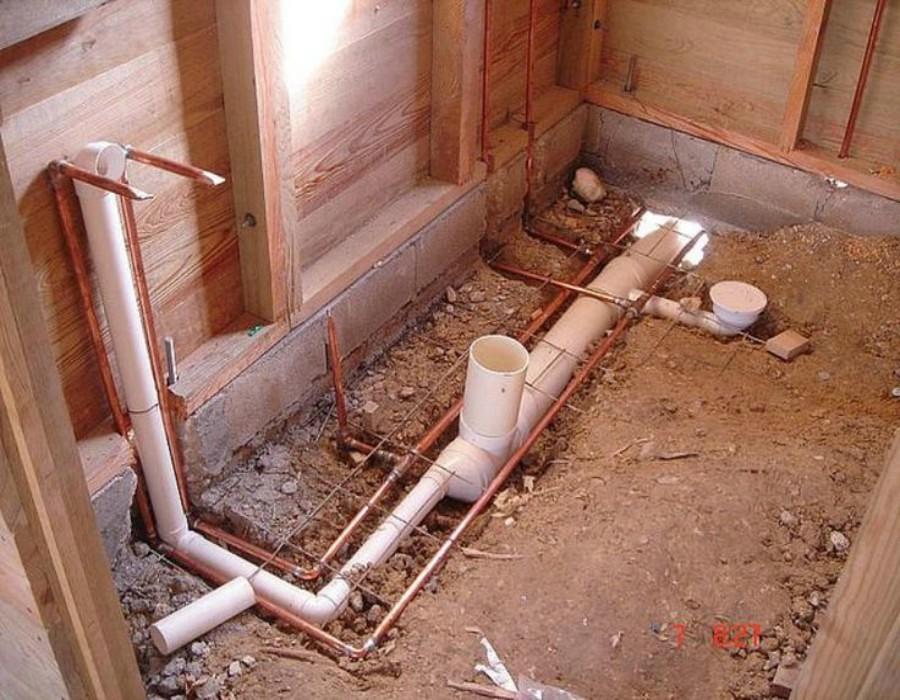 Tuberías de agua potable y drenaje