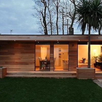 Casas construidas con madera