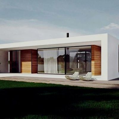 Casas prefabricadas de PVC