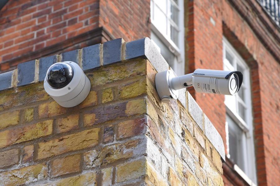 Cámaras de vigilancia exteriores