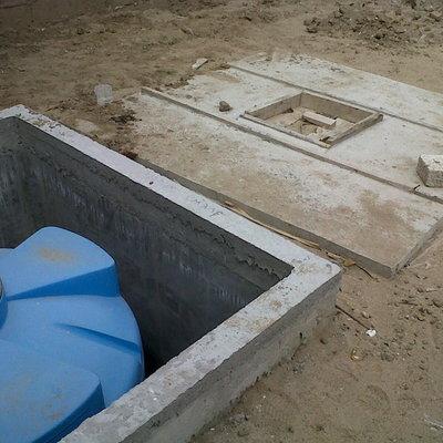 C mo instalar una cisterna precios y consejos habitissimo for Cisternas de cemento