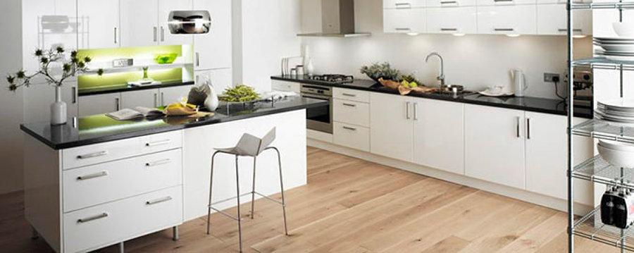 cocinas con gabinetes inferiores