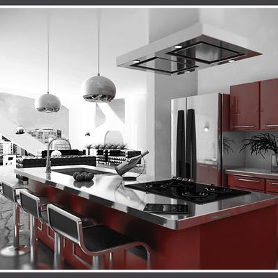 Cocinas integrales: funcionalidad fusionada con estilo