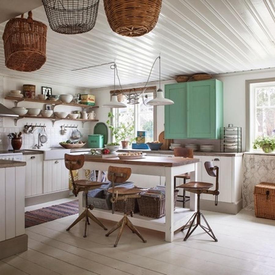 Cocinas rústicas: belleza al natural
