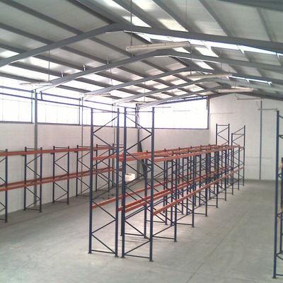 Construcción de naves industriales modulares
