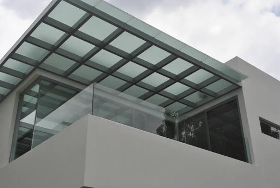 Domos vidrio templado