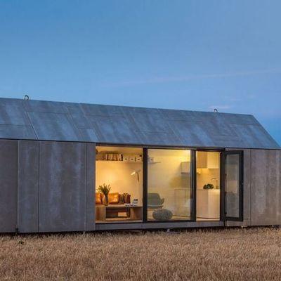 Casa prefabricada de concreto