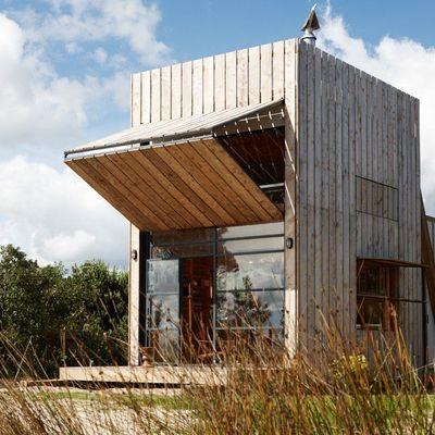 Casas de materiales reciclados