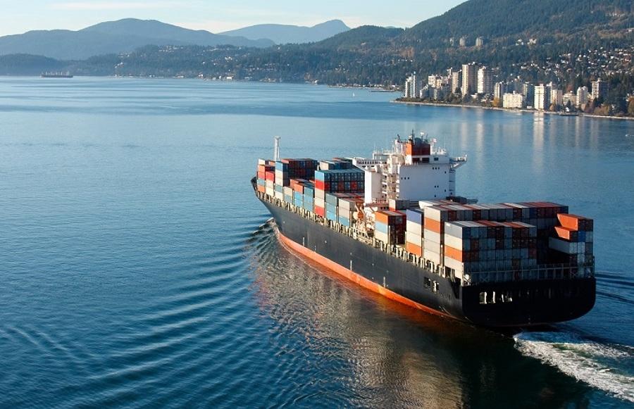Flete internacional marítimo