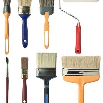 Herramientas para pintar techo de cocina