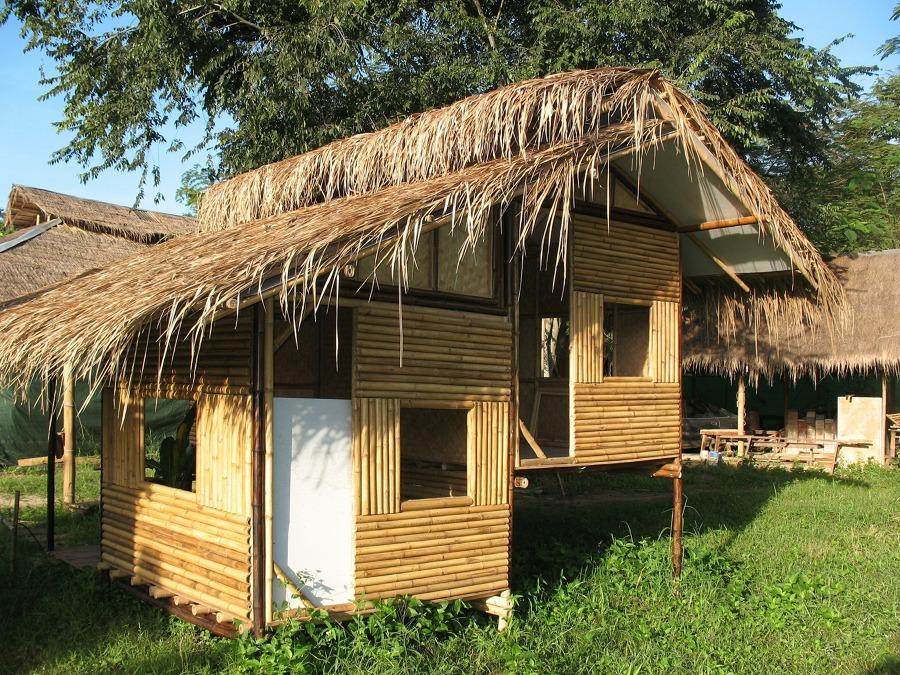 Cabañas de bambú