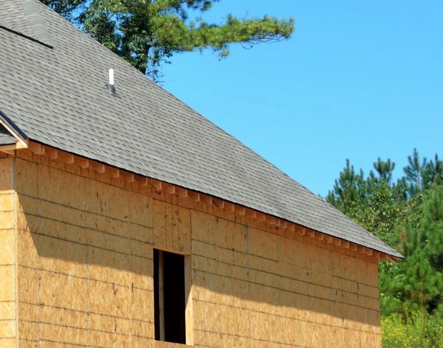 Impermeabilizar techos de páneles y OSB