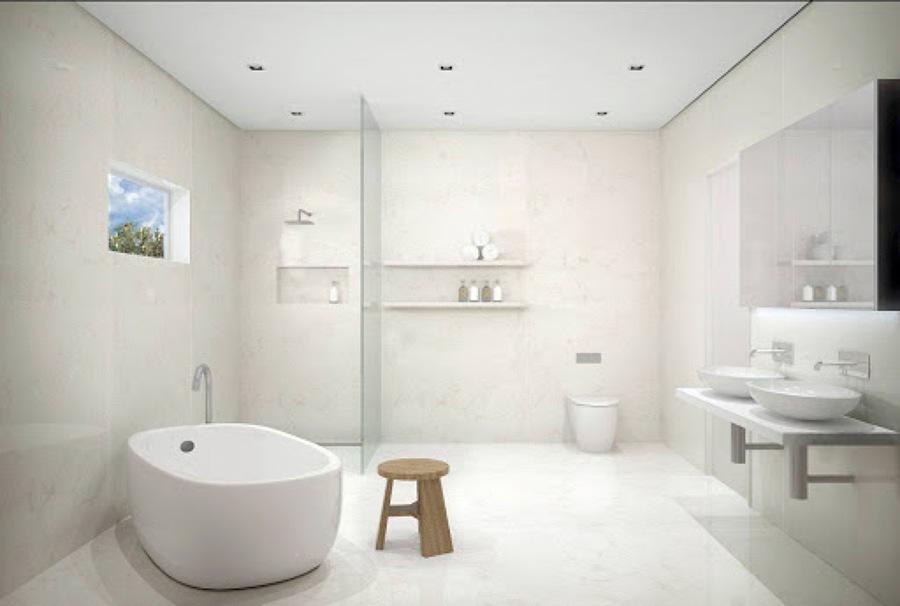 Instalar piso en baño