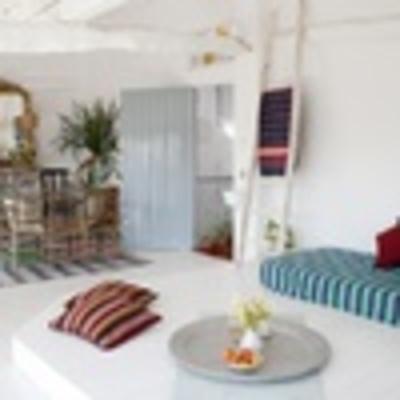 Interior de un departamento estilo Mediterráneo