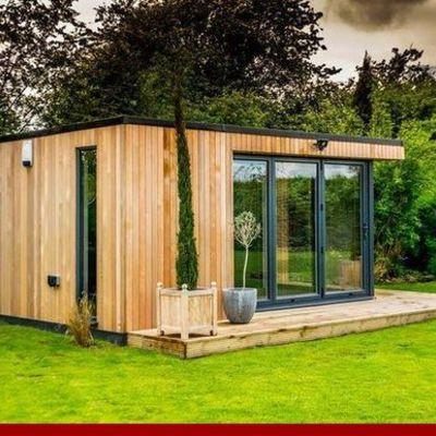 Construir un cuarto en un jardín