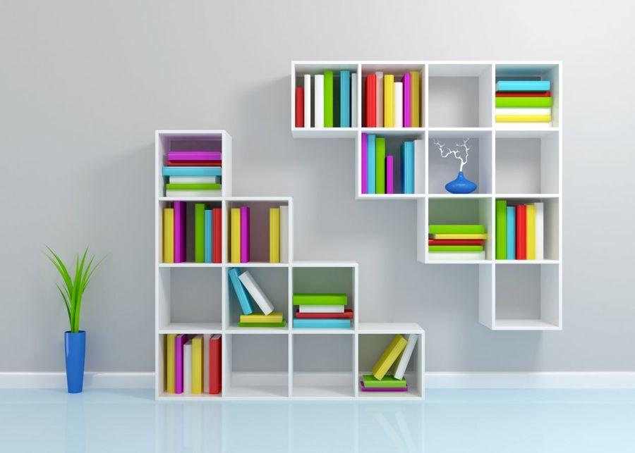 Libreros modulares