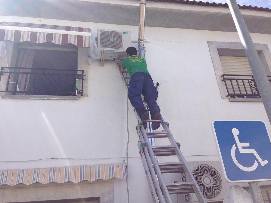 Mantenimiento aire acondicionado unidad exterior. Habitissimo