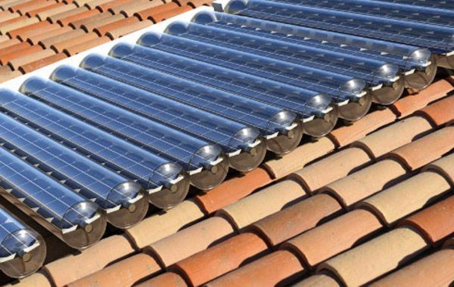 Mmantenimiento paneles solares tubulares