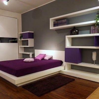 Muebles de recámara con tablaroca