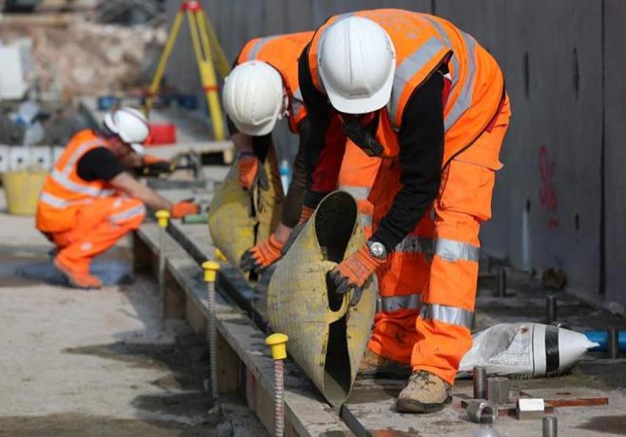 Construcción de obras públicas