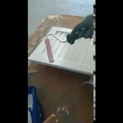 Orden y dirección de pintado de techo de cocina