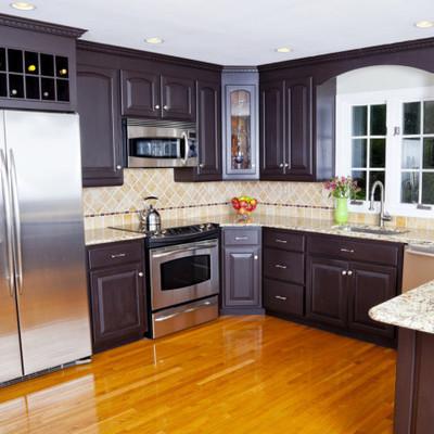 Pintar cocina con gabinetes