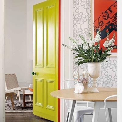 Pintar las puertas y los marcos