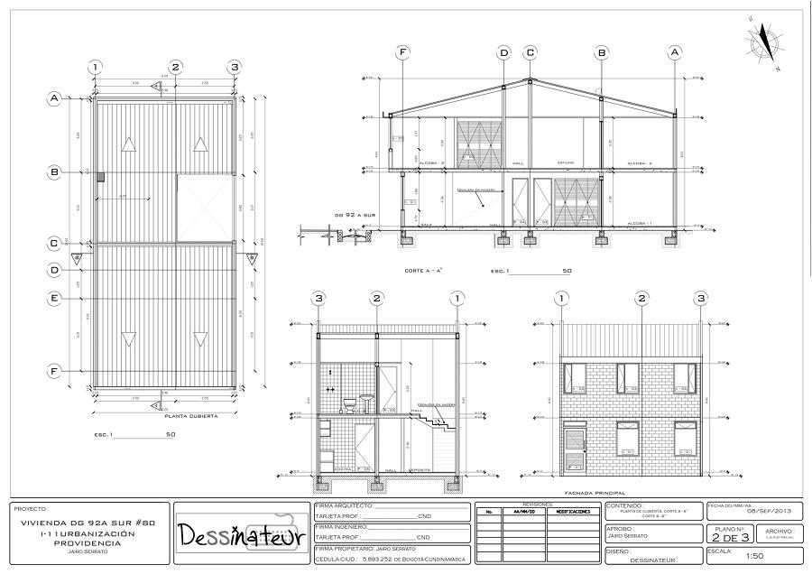 Cu nto cuestan los planos de casa precios y consejos for Que es un plano arquitectonico