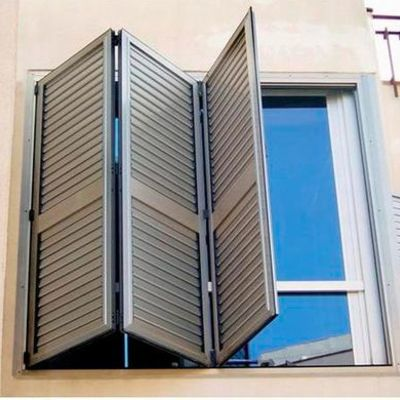 Ventanas de aluminio plegables