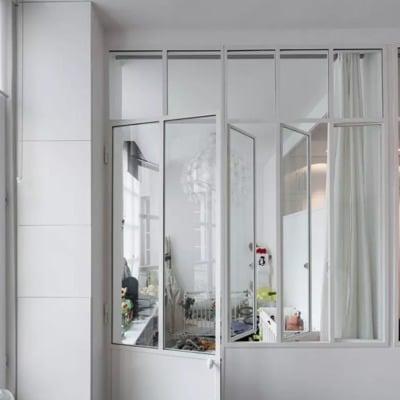 puertas aluminio estilo minimalista