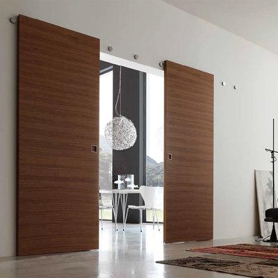 Puertas de madera corredizas divisorias