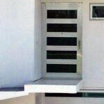 puertas e aluminio estilo loft