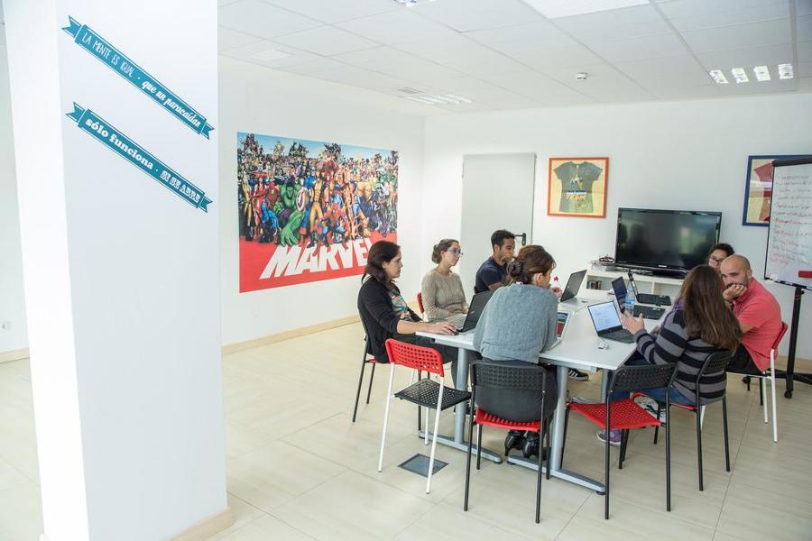 Remodelación de oficinas con temáticas