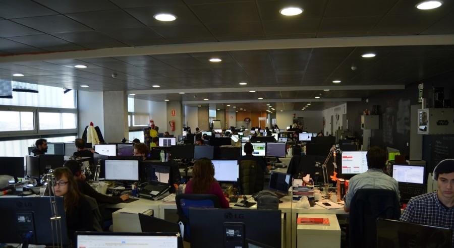 Remodelación para el espacio abierto en oficinas