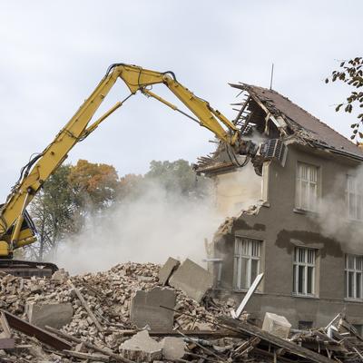 Retirada y gestión de escombros