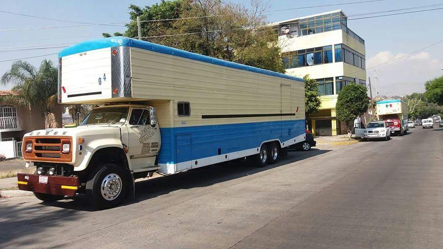 Tipos de camiones de mudanza