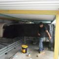 ailamiento del ducto