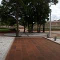 Andadores y plazas, dentro del huerto del Antiguo Convento de Santa Rosa de Viterbo