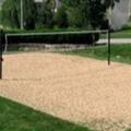 arena silica para espacios canchas de voley