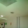 Plafon corrido con luz