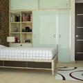 Diseño de interiores recamara juvenil