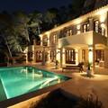 Iluminación fachada y jardin