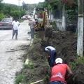 Instalación de Linea de Conducción de Agua Potable