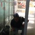 Instalación de película seguridad