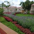 Jardines y barda perimetral del Huerto