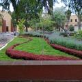 Jardines y fachada posterior del Convento