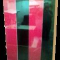 lockers de madera sobre diseño
