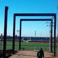 montaje de estructura, gimnacio, de minusvalidos rosarito bc